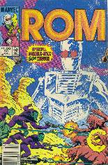 Rom (1979-1986) #50 Variant A: Newsstand Edition