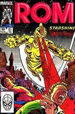 Rom (1979-1986) #51 Variant B: Direct Edition