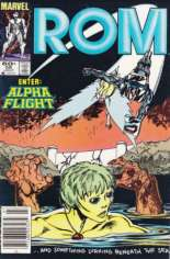 Rom (1979-1986) #56 Variant A: Newsstand Edition