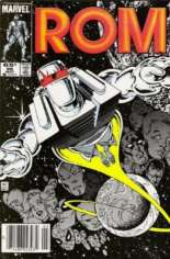 Rom (1979-1986) #66 Variant A: Newsstand Edition