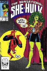 Sensational She-Hulk (1989-1994) #3 Variant B: Direct Edition