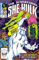 Sensational She-Hulk (1989-1994) #7 Variant B: Direct Edition