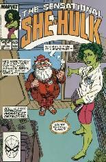 Sensational She-Hulk (1989-1994) #8 Variant B: Direct Edition