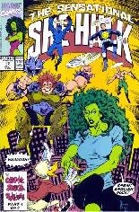 Sensational She-Hulk (1989-1994) #17