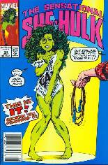 Sensational She-Hulk (1989-1994) #40 Variant A: Newsstand Edition