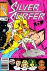 Silver Surfer (1987-1998) #1 Variant A: Newsstand Edition
