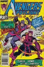 Avengers Spotlight (1989-1991) #22 Variant A: Newsstand