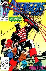 Avengers Spotlight (1989-1991) #31 Variant B: Direct Edition