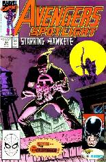 Avengers Spotlight (1989-1991) #32 Variant B: Direct Edition