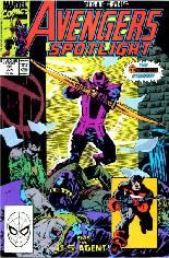 Avengers Spotlight (1989-1991) #33