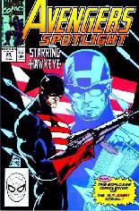 Avengers Spotlight (1989-1991) #34