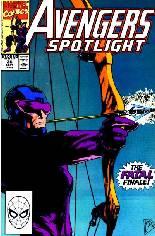 Avengers Spotlight (1989-1991) #36