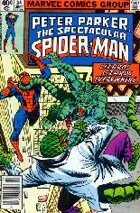Spectacular Spider-Man (1976-1998) #34 Variant A: Newsstand Edition