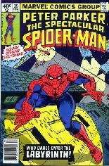 Spectacular Spider-Man (1976-1998) #35 Variant A: Newsstand Edition