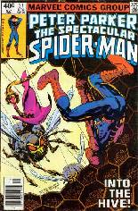 Spectacular Spider-Man (1976-1998) #37 Variant A: Newsstand Edition