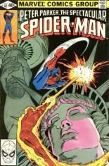 Spectacular Spider-Man (1976-1998) #42 Variant B: Direct Edition