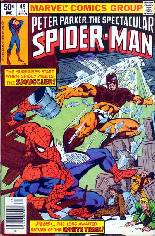 Spectacular Spider-Man (1976-1998) #49 Variant A: Newsstand Edition