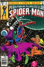 Spectacular Spider-Man (1976-1998) #51 Variant A: Newsstand Edition