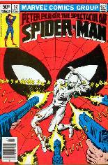 Spectacular Spider-Man (1976-1998) #52 Variant A: Newsstand Edition