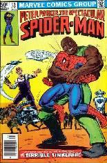 Spectacular Spider-Man (1976-1998) #53 Variant A: Newsstand Edition