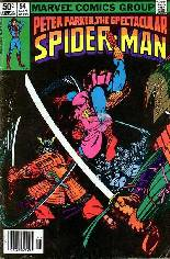 Spectacular Spider-Man (1976-1998) #54 Variant A: Newsstand Edition