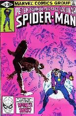 Spectacular Spider-Man (1976-1998) #55 Variant B: Direct Edition