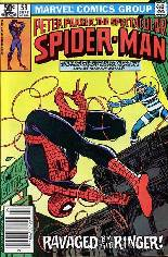 Spectacular Spider-Man (1976-1998) #58 Variant A: Newsstand Edition