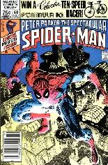 Spectacular Spider-Man (1976-1998) #60 Variant A: Newsstand Edition
