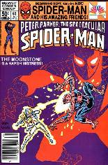 Spectacular Spider-Man (1976-1998) #61 Variant A: Newsstand Edition
