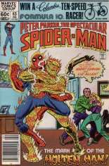 Spectacular Spider-Man (1976-1998) #63 Variant A: Newsstand Edition