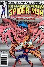 Spectacular Spider-Man (1976-1998) #65 Variant A: Newsstand Edition