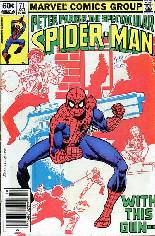 Spectacular Spider-Man (1976-1998) #71 Variant A: Newsstand Edition