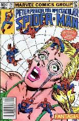 Spectacular Spider-Man (1976-1998) #74 Variant A: Newsstand Edition