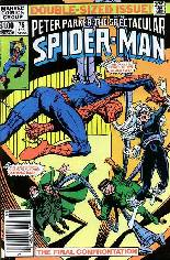 Spectacular Spider-Man (1976-1998) #75 Variant A: Newsstand Edition