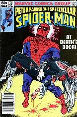 Spectacular Spider-Man (1976-1998) #76 Variant A: Newsstand Edition