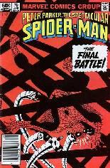 Spectacular Spider-Man (1976-1998) #79 Variant A: Newsstand Edition