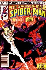 Spectacular Spider-Man (1976-1998) #81 Variant A: Newsstand Edition