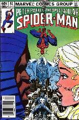 Spectacular Spider-Man (1976-1998) #82 Variant A: Newsstand Edition