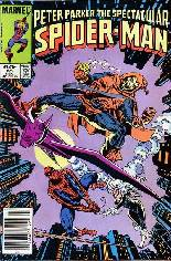 Spectacular Spider-Man (1976-1998) #85 Variant A: Newsstand Edition