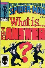 Spectacular Spider-Man (1976-1998) #92 Variant B: Direct Edition