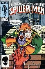 Spectacular Spider-Man (1976-1998) #104 Variant B: Direct Edition