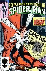 Spectacular Spider-Man (1976-1998) #105 Variant B: Direct Edition