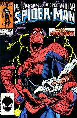 Spectacular Spider-Man (1976-1998) #106 Variant B: Direct Edition