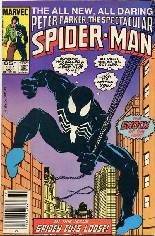Spectacular Spider-Man (1976-1998) #107 Variant A: Newsstand Edition