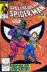 Spectacular Spider-Man (1976-1998) #136 Variant B: Direct Edition