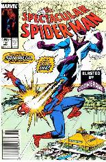 Spectacular Spider-Man (1976-1998) #144 Variant A: Newsstand Edition