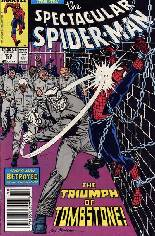 Spectacular Spider-Man (1976-1998) #155 Variant A: Newsstand Edition