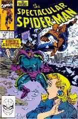 Spectacular Spider-Man (1976-1998) #164 Variant B: Direct Edition