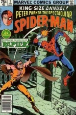Spectacular Spider-Man (1976-1998) #Annual 2 Variant A: Newsstand Edition