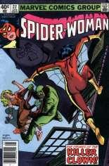 Spider-Woman (1978-1983) #22 Variant A: Newsstand Edition